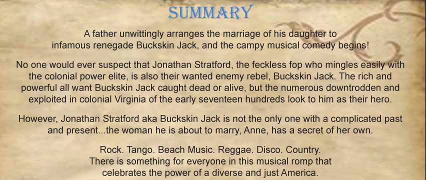 The Adventures of Buckskin Jack - Summary