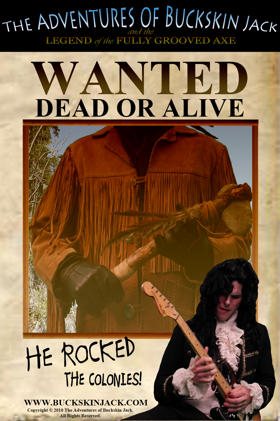 Buckskin Jack - Wanted Dead or Alive